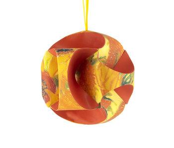 Fais le toi-même: boule de Noël Van Gogh, Tournesols