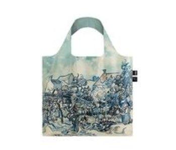 Shopper foldable ,Van Gogh, Old Vineyard