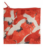 Sac pliable, Grues blanches et rouges