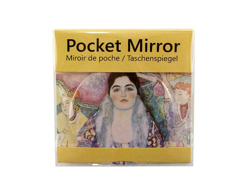 Pocket Mirror, Ø 80 mm , Klimt, Beer
