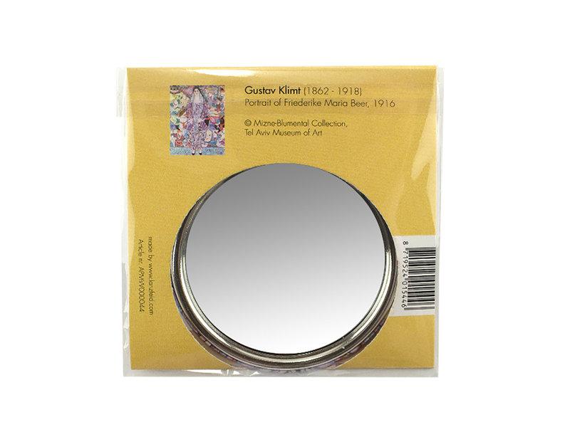 Espejo de bolsillo,  Ø 80 mm, Klimt, Beer