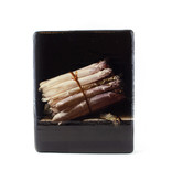 Masters-on-wood, Coorte, Nature morte aux asperges, 240 x 195 mm