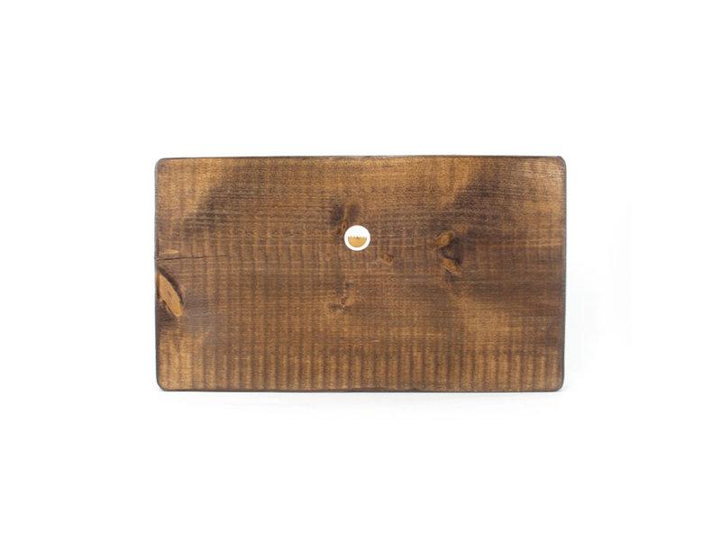 Maestros sobre madera, Bodegón de melocotones y membrillos 300 x 195mm