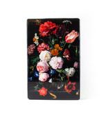 Masters-on-wood, Flower still life, De Heem 300 x 195mm