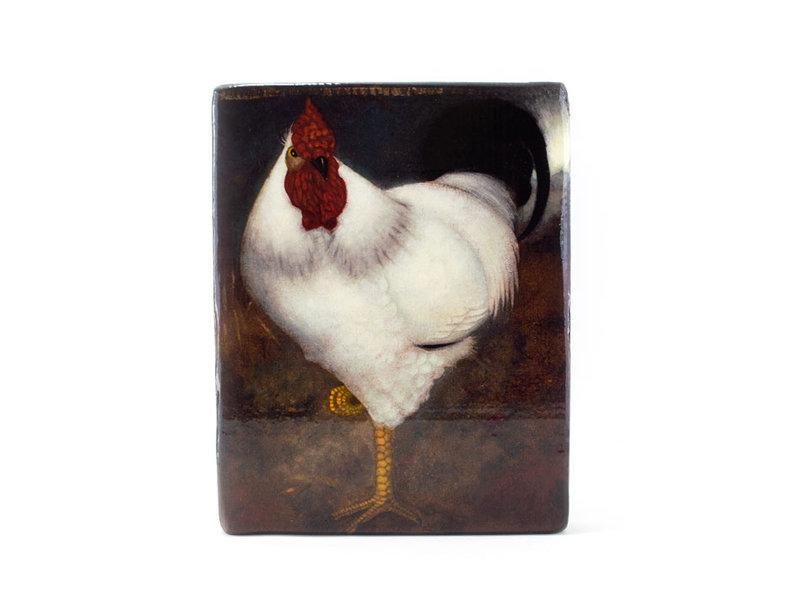 Maîtres-sur-bois, Coq blanc, Jan Mankes, 240 x 195mm