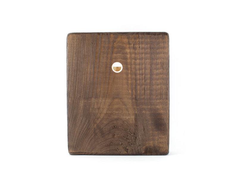 Masters-on-wood, Stillleben mit 3 Pfirsichen, 240x195 mm