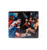 Masters-on-wood, Anbetung der Hirten, Lorenzo Lotto 230x195 mm