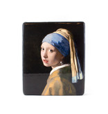 Masters-on-wood, Fille à la perle, Vermeer,230x195 mm