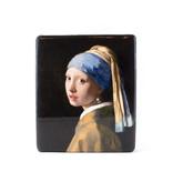 Masters-on-wood, Mädchen mit einem Perlenohrring, Vermeer,230x195 mm