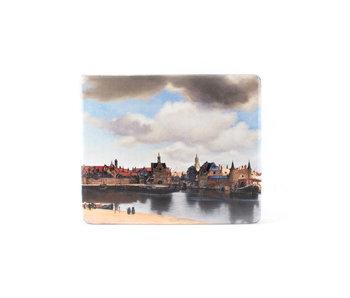 Muismat , Gezicht op Delft, Vermeer