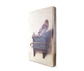 Masters-on-wood, El jilguero, Carel Fabritius