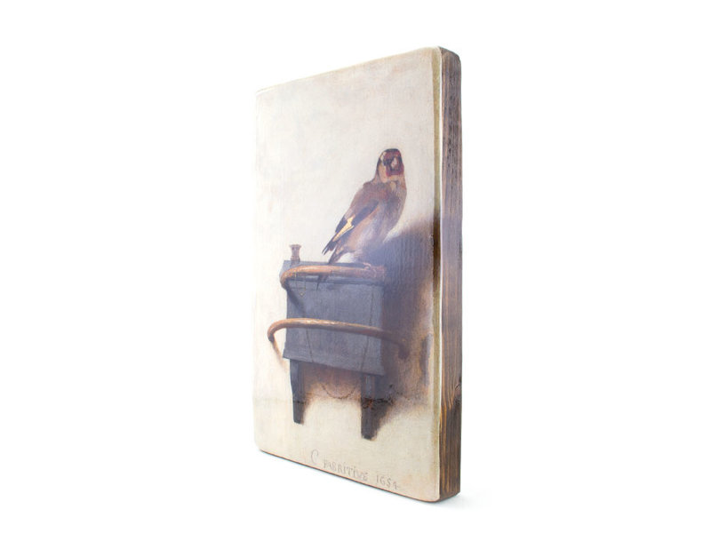Masters-on-wood, Goldfinch, Fabritius 300 x 195mm