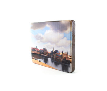 Masters-on-wood, Vermeer, View on Delft