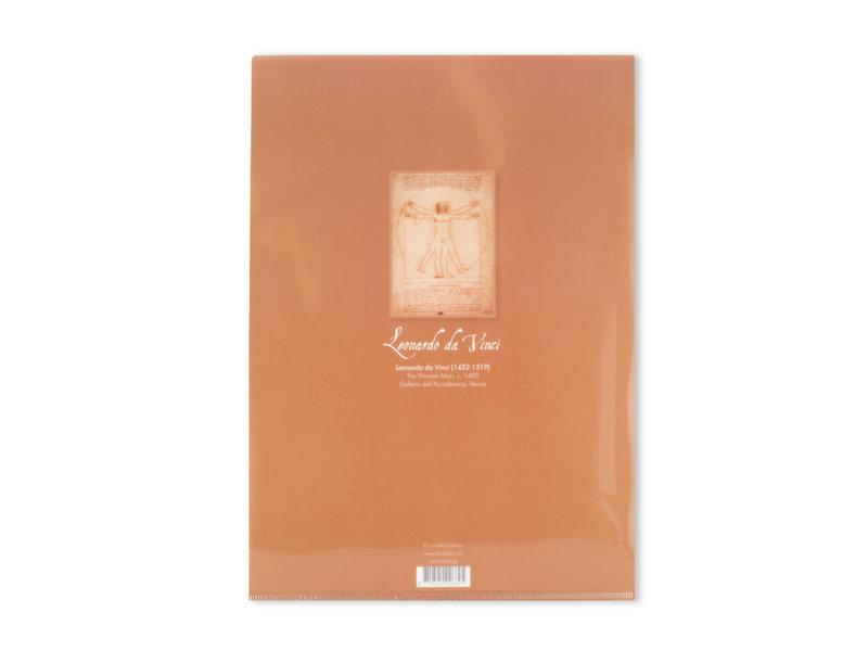 File Sheet A4,   Da Vinci, Mens van Vitruvius