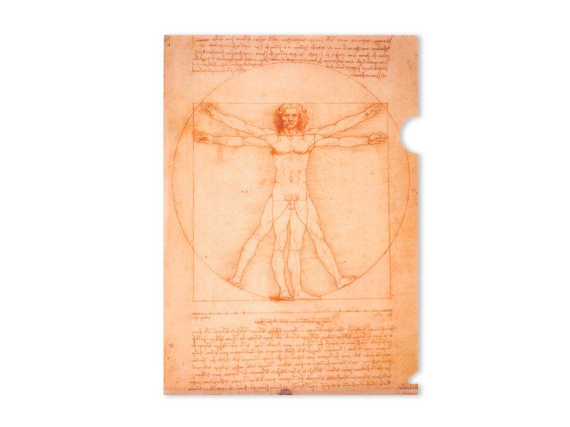 Porte-documents A4, Da Vinci, l'homme de Vitruve