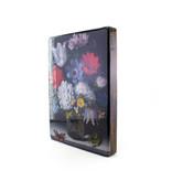 Meister-auf-Holz, Blumenstillleben mit Schmetterling, Bosschaert, 260 x 195mm