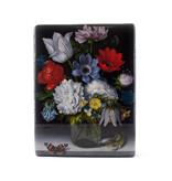 Meester-op-hout- Bloemstilleven met vlinder,Bosschaert, 260 x 195mm