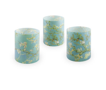 Candle shades, Van Gogh, Almond blossom