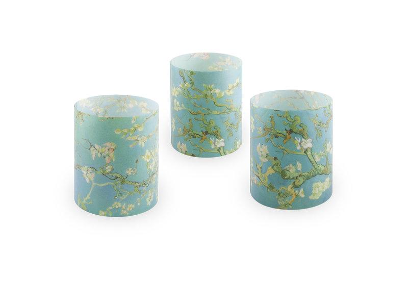 Kerzenschirm, Van Gogh, Mandelblüte, set of 3
