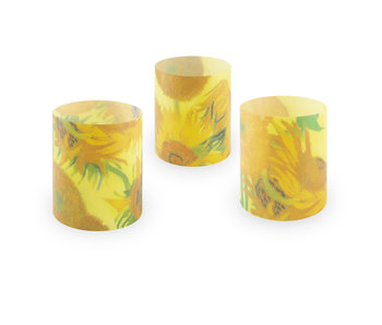 Candle shades, Van Gogh, Sunflowers