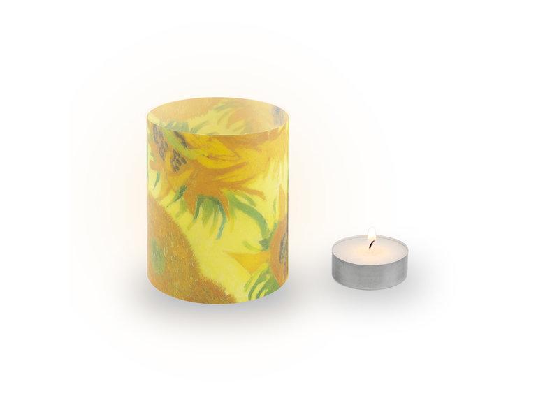 Candle shades, Van Gogh, Sunflowers