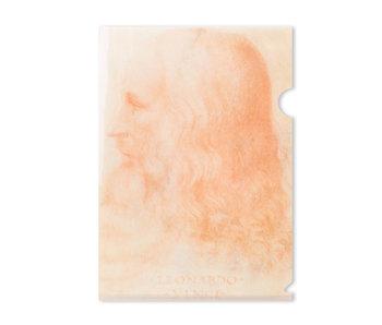 Funda portadocumentos, A4, Da Vinci, Auto retrato