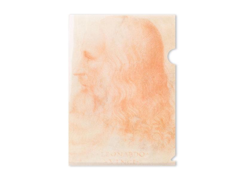 File Sheet A4, Da Vinci, Self portrait