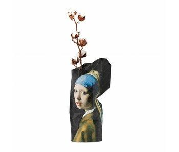 Papiervase, Vermeer, Mädchen mit dem Perlenohrring