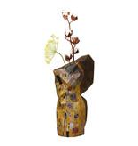 Florero de papel, Klimt