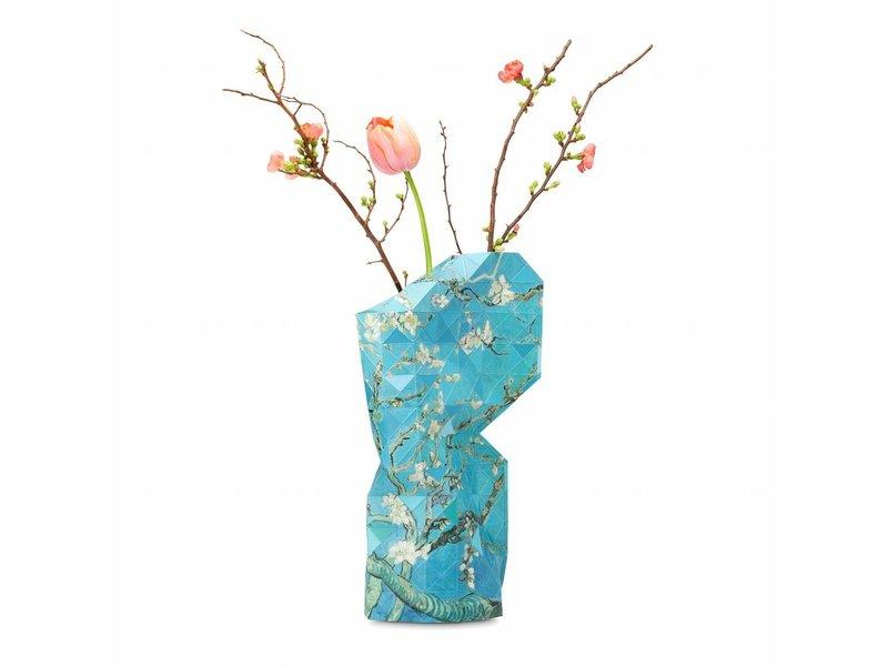 Florero de papel, flor de almendro, Van Gogh