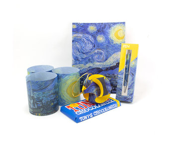 "Kerst kado set ""Sterrennacht"""