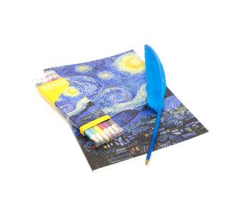 "Gift set ""It's written in the stars"", Van Gogh"