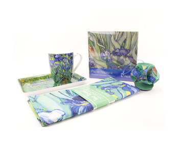 Kado set: Irissen, Vincent van Gogh