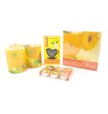 Set de regalo de arte navideño: Girasoles Vincent van Gogh