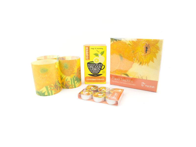 Weihnachts Geschenkset: Sonnenblumen Vincent van Gogh