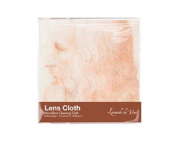 Chiffon de nettoyage pour lunettes, 15 x 15 cm, Da Vinci, Autoportrait