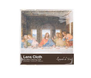 Linsentuch, 15 x 15 cm, Da Vinci, Das letzte Abendmahl