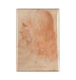 Koelkast kunst magneet, Da Vinci, Zelfportret