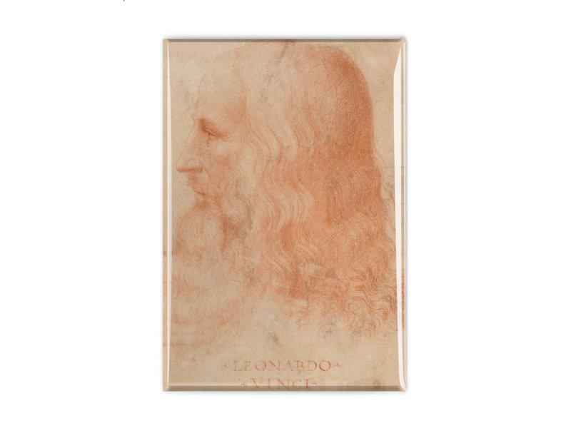 Fridge magnet, Da Vinci, Self portrait