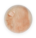 Glazen bolle  presse papier,  Da Vinci, Zelf portret