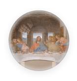 Glazen bolle  presse papier,  Da Vinci, Laatste avondmaal