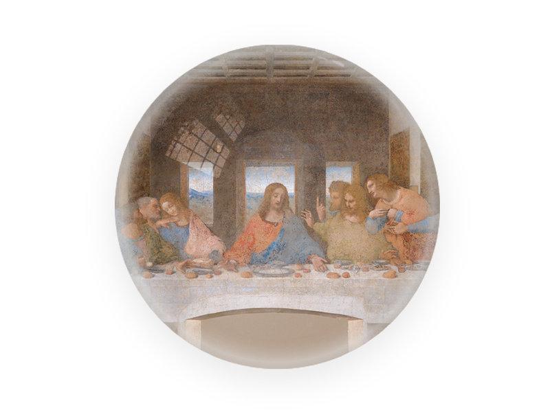 Presse-papier en verre, Da Vinci, Dernière Cène