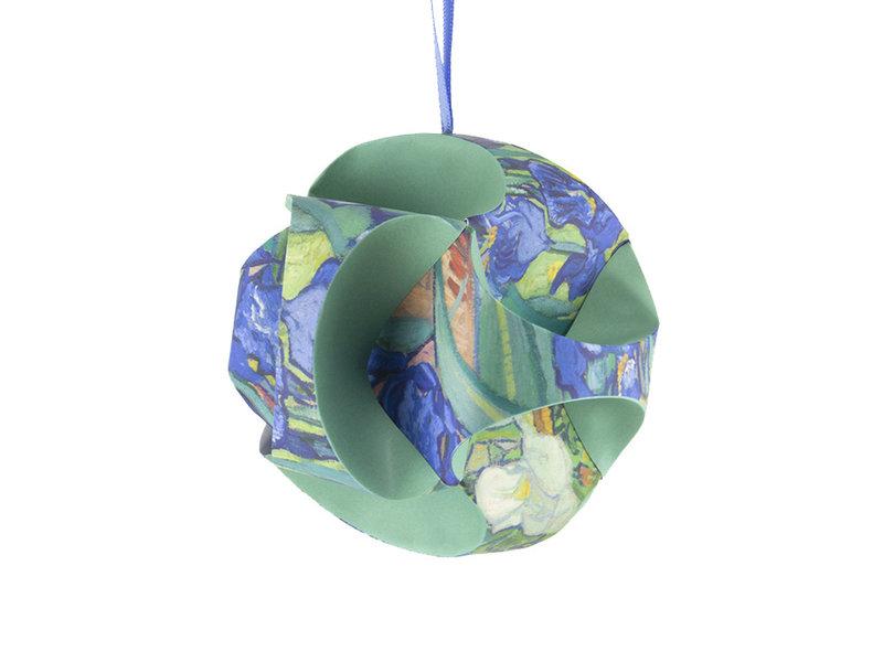 Kerst Kunst Kado set: Irissen, Vincent van Gogh