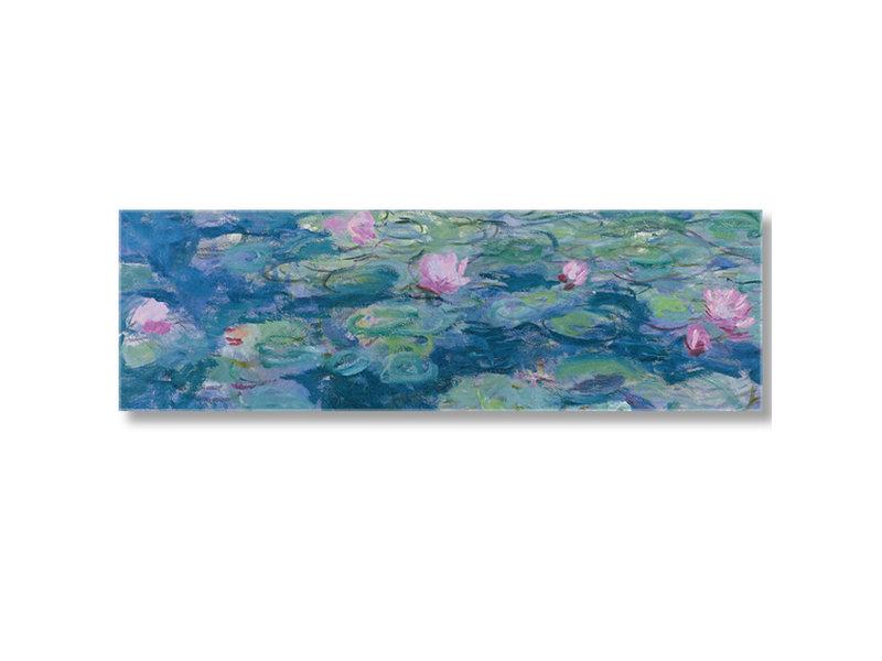 Geschenkset Monet: Sommerabend am Teich