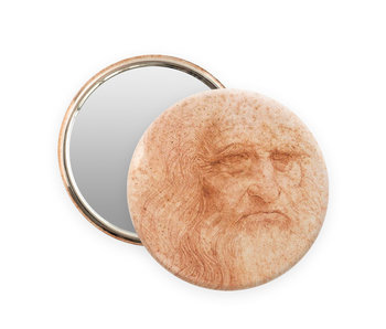 Pocket Mirror, Ø 80 mm , Da Vinci, Self portrait