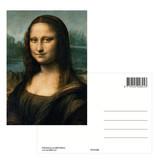 Carte postale, Da Vinci, Mona Lisa