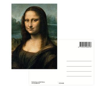 Postal, Da Vinci, Mona Lisa