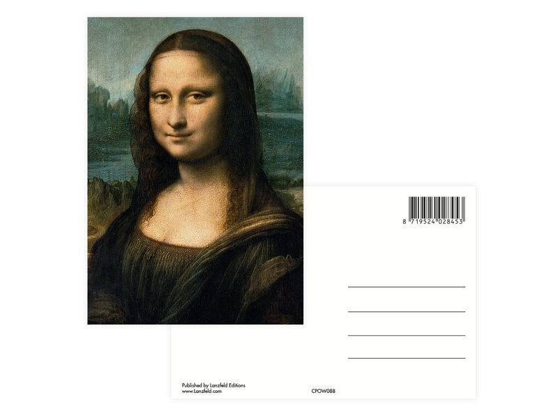 Postkarte, Da Vinci, Mona Lisa