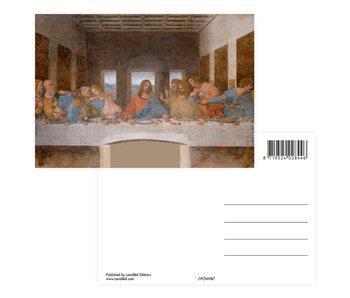 Ansichtkaart,  Da Vinci,  Da Vinci, Het  Laatste Avondmaal