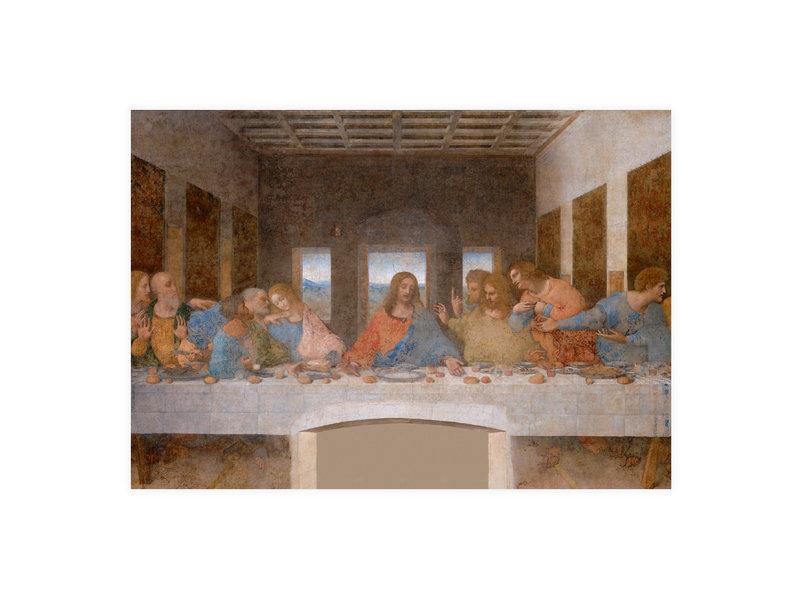Postkarte, Da Vinci, Das letzte Abendmahl